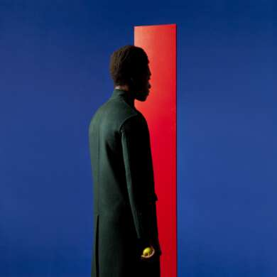 Benjamin Clementine cover_album_At least for now