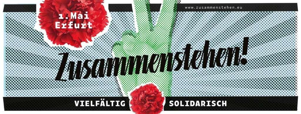 Am 1. Mai ruft die Organisation #zusammenstehen zu einer Demonstration auf. Mit dabei ist auch Künstler Clueso