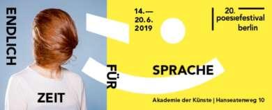 20. Poesiefestival Berlin