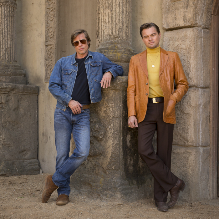 """Brad Pitt und Leonardo DiCaprio in """"Once upon a Time in Hollywood"""""""