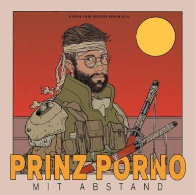 """Prinz Pi hat ein neues Album """"Mit Abstand"""" angekündigt, das der Rapper unter seinem alten Pseudonym Prinz Porno veröffentlicht."""