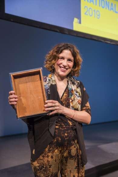 Gewinnerin Pauline Curnier Jardin Preis der Nationalgalerie (c) David von Becker