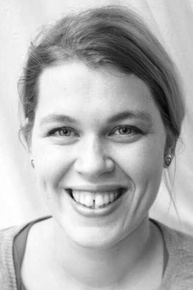 """Berit Glanz liest aus ihrem Roman """"Pixeltänzer""""."""