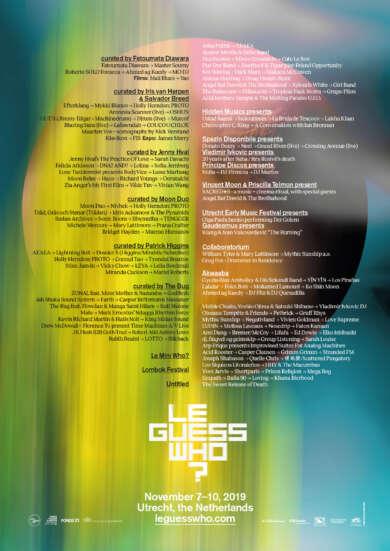 Es ist soweit: Das ganze Line-up des Le Guess Who? wurde heute angekündigt.