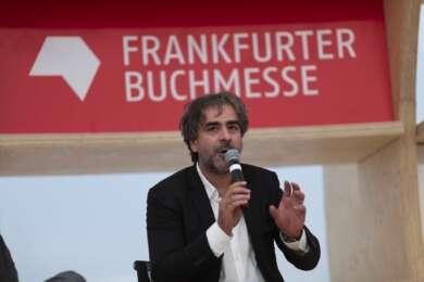 Deniz Yücel auf der Buchmesse Frankfurt