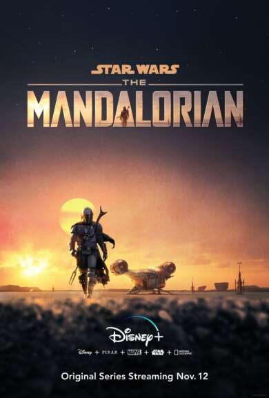 "Serie ""The Mandalorian"" startet heute auf Disney Plus."