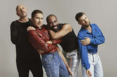 """Queer 4 You"" Sven Rebel, Fabian Hart, Chris Glass, Christian Fritzenwanker"