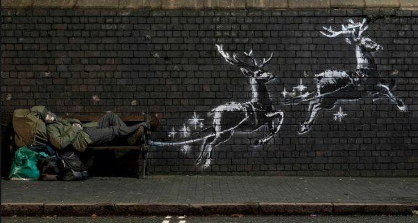 Banksy: Street-Art, Graffito