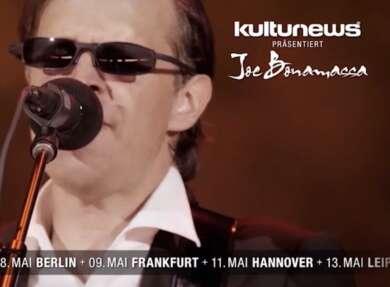 Joe Bonamassa auf Deutschlandtour 2020