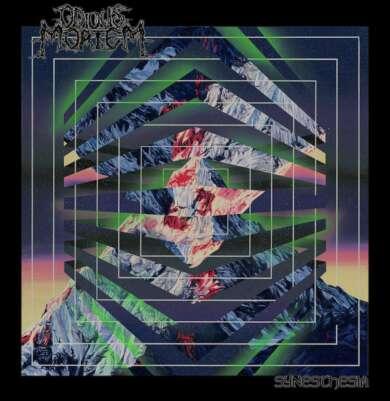 "Odious Mortem ""Synesthesia"" (Death Metal) Albumcover"