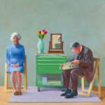David Hockney DIE TATE ZU GAST Bucerius Kunst Forum Hamburg