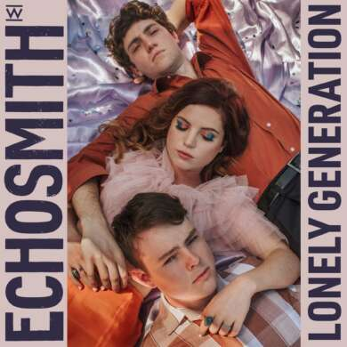 "Echosmith ""Lonely Generation"" Albumcover"