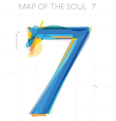 BTS: Map of the Soul: 7 Album Cover