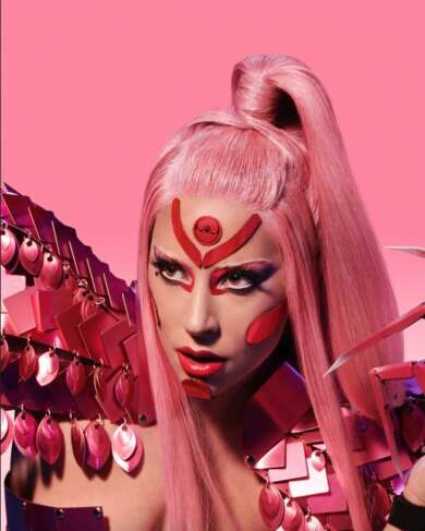 Lady Gaga Promotional Image for new album Chromatica