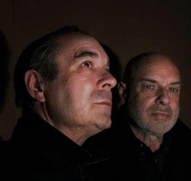 Brian Eno und sein Bruder Roger