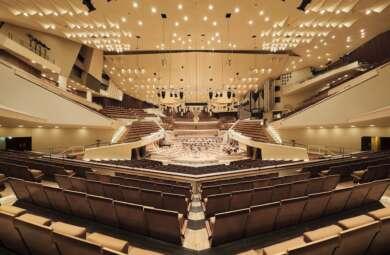 Berliner Philharmoniker geben digitales Europakonzert.