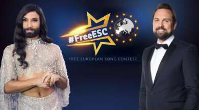 Conchita Wurst und Steven Gätjen moderieren den Free European Song Contest
