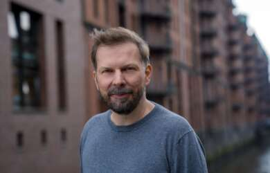 Helge Albers ist Geschäftsführer der FFHSH, die jährlich den Filmpreis Schleswig-Holstein verleiht.