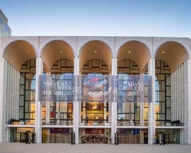 Die Metropolitan Opera in New York.