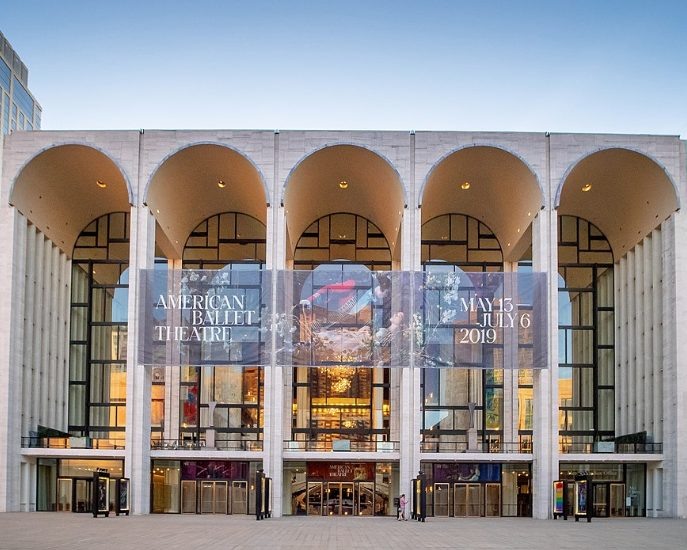 Die Metropolitan Opera in New York.