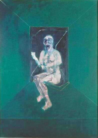 Francis Bacon meets Yves Klein