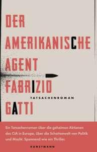 """Buchcover """"Der amerikanische Agent"""" von Fabrizio Gatti"""