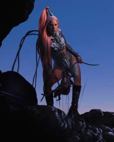 "Lady Gaga bringt neue Single ""Sour Candy"" heraus."
