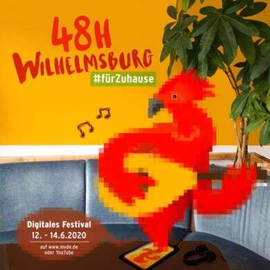 48h Wilhelmsburg 2020 Poster