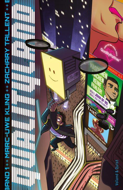 """Buchcover Graphic-Novel """"Qualityland"""" von Marc-Uwe Kling"""
