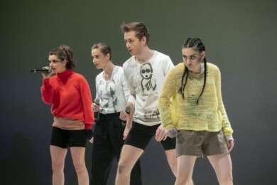 Theater Open Air Foto: David Baltzer Junges Schauspiel: Ausschnitte aus »Antigone«