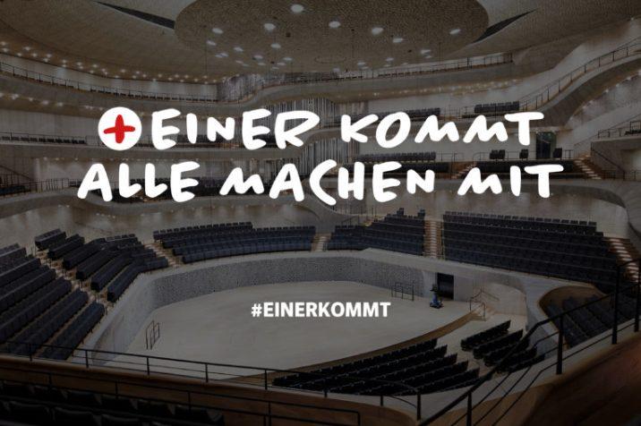 """""""Einer kommt"""": Festival aus Solidarität mit der Pflege."""