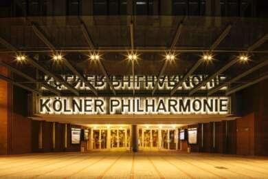 Die Kölner Philharmonie zeigt ab heute wieder Konzerte.