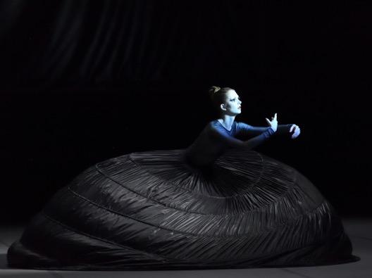 Sinéad Brodd in Naiad, präsentiert vom Stuttgarter Ballett
