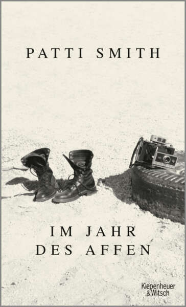 """Buchcover """"Im Jahr des Affen"""" von Patti Smith"""