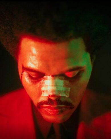 Grammys: The Weeknd mit Nasenpflaster