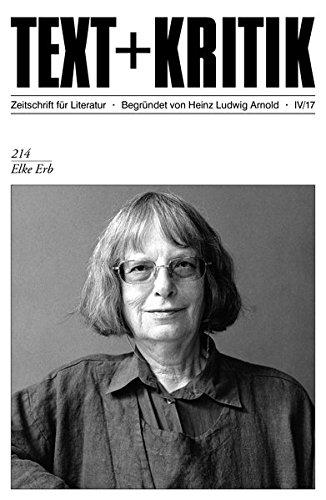 Elke Erb erhält den Georg-Büchner-Preis 2020