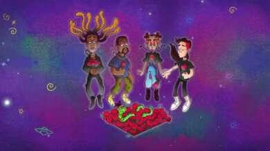 """Ty Dolla $ign Visualizer für """"Ego Death"""" mit Kanye West, FKA twigs und Skrillex."""