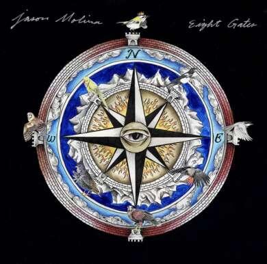 Jason Molina Eight Gates Albumcover