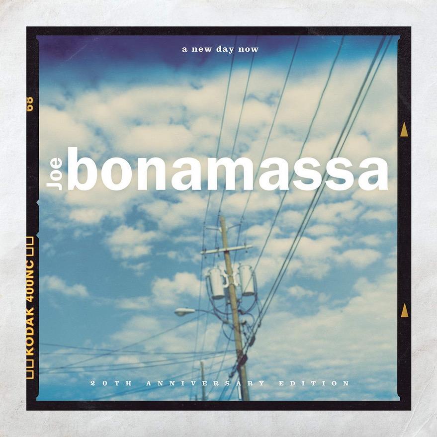 Joe Bonamassa A new Day now Albumcover