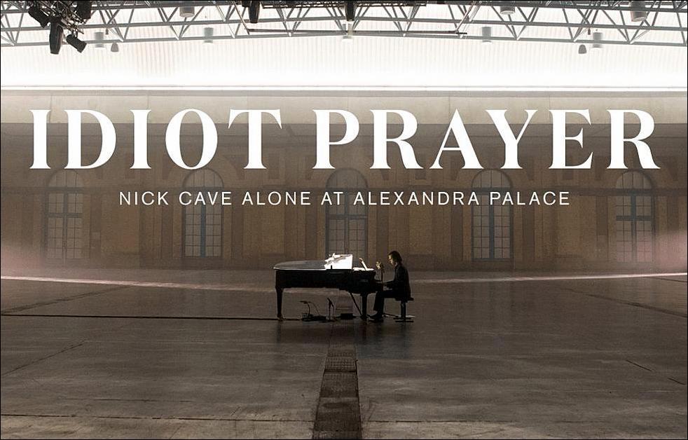 Nick Cage at Alexandra Palace