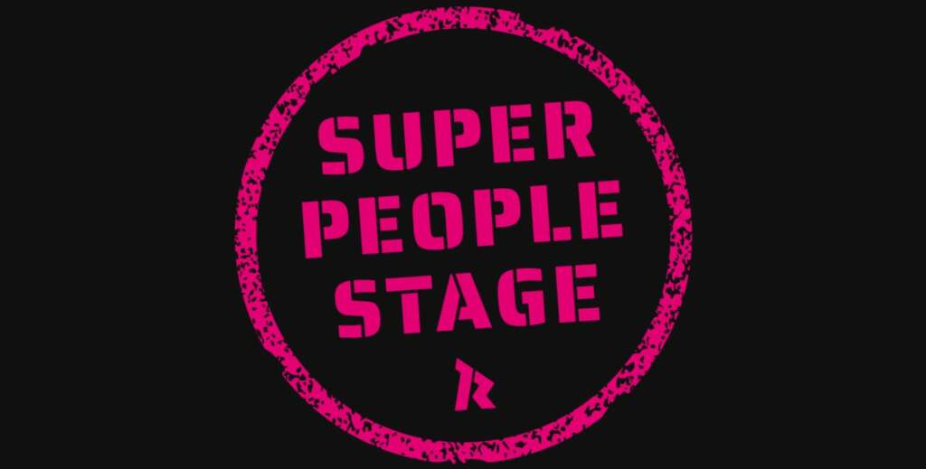 Super People Stage im Knust im Hamburg