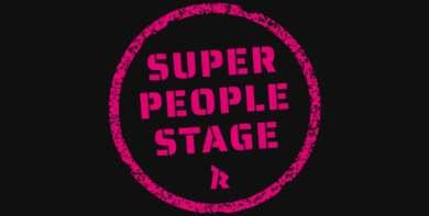Super People Stage im Knust im Hamburg
