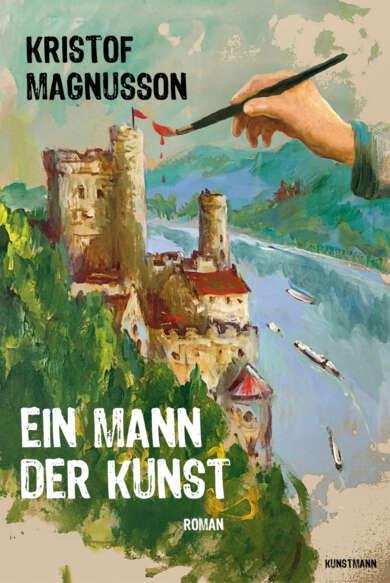 """Buchcover """"Ein Mann der Kunst"""" von Kristof Magnusson"""