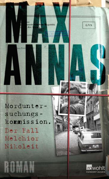 """Buchcover von """"Morduntersuchungskommission – Der Fall Melchior Nikoleit"""" von Max Annas"""
