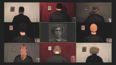 """Nesterval: Ausschnitt aus dem Stück """"Der Willy-Brandt-Test"""", das auf Kampnagel gezeigt wird."""
