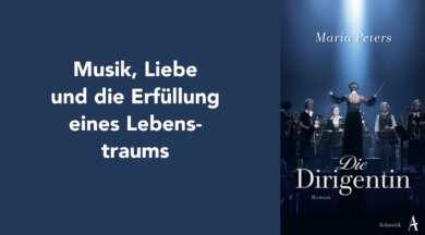 """Das Cover von dem Buch """"Die Dirigentin"""" von Maria Peters"""