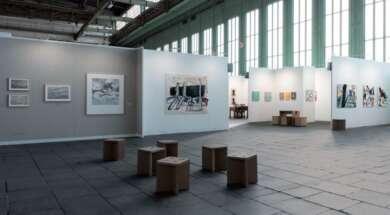 Eine Ausschnitt der Positions Berlin Art Fair 2020