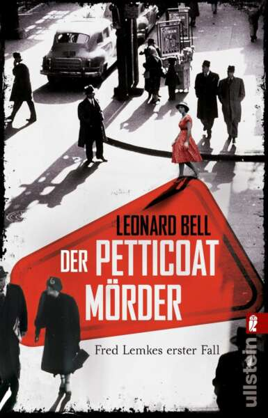 """Buchcover zu """"Der Petticoat Mörder"""" von Leonard Bell"""