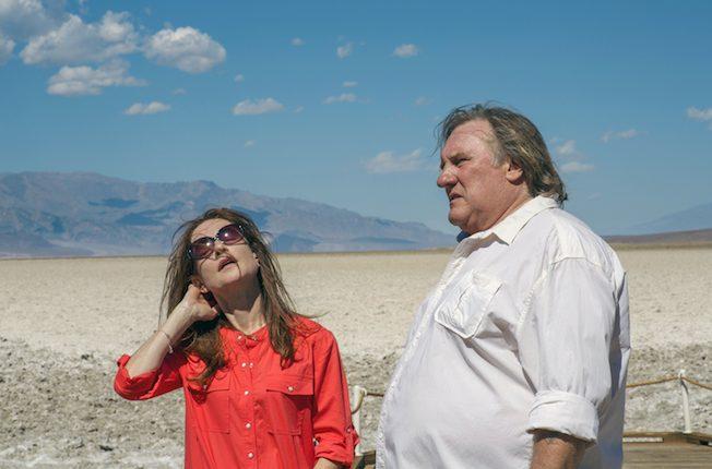 Gérard Depardieu und Isabelle Huppert