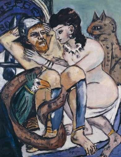 Max Beckmann. weiblich-männlich Hamburger Kunsthalle